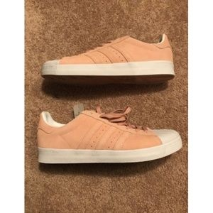 Adidas Superstar Vulc ADV Pastel Pink/ White Haze